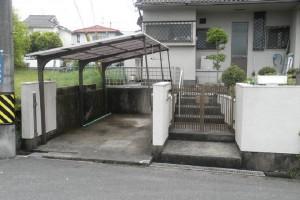 【波板リフォーム】奈良県桜井市M様邸 波板張替工事