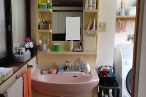 【洗面化粧台リフォーム】奈良県宇陀市W様邸 洗面化粧台交換工事