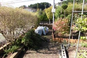 【フェンス設置・植木処分工事】奈良県宇陀市K様邸 フェンス設置工事