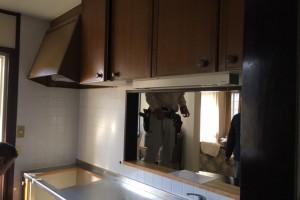 三重県名張市 タカラのキッチンレミューを入れ替え工事